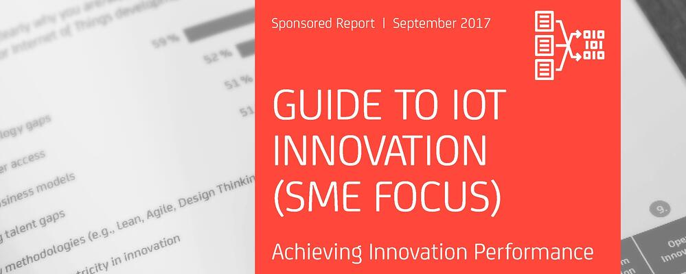 Guide to IoT Innovation Cover